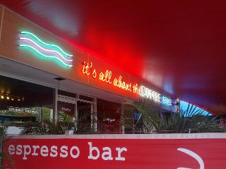 Alan Preston's Cafe in Salisbury Qld 2014
